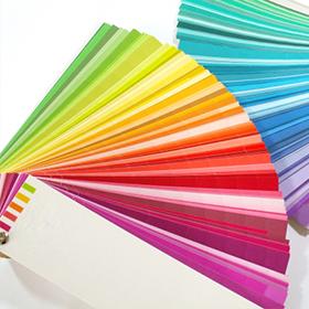 カラーサンプルで色決め